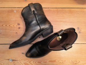 Buffalo Botines estilo vaquero marrón Cuero