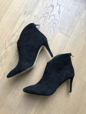 Buffalo Heel Boots black
