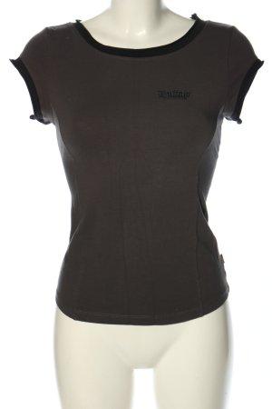 Buffalo T-Shirt braun Casual-Look
