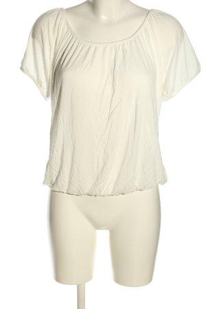 Buffalo T-Shirt wollweiß Casual-Look