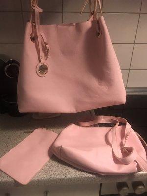 Buffalo Borsa shopper rosa chiaro