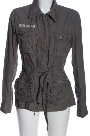 Buffalo Übergangsjacke hellgrau Casual-Look