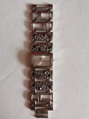 Buffalo Reloj con pulsera metálica lila