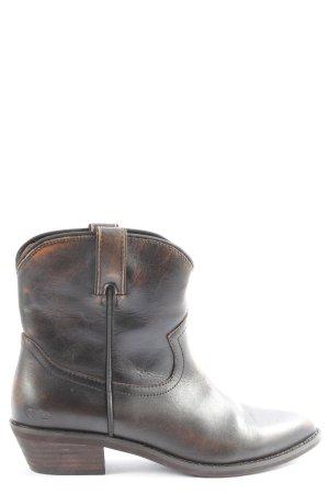 Buffalo Stivaletto western nero stile casual