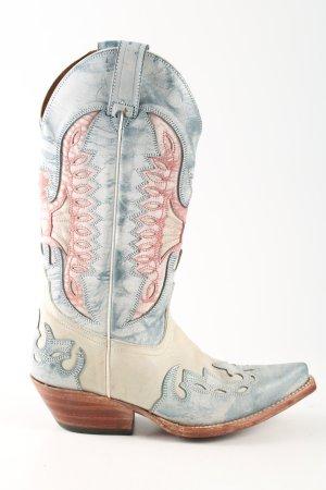 Buffalo Boots western multicolore style décontracté