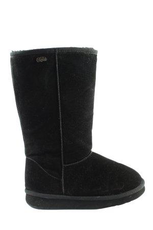 Buffalo Winter-Stiefeletten schwarz Casual-Look