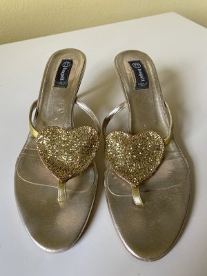 Bugatti Dianette Sandals gold-colored