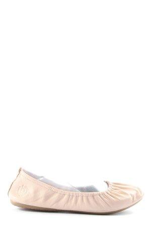 Bugatti Składane baleriny kremowy W stylu casual