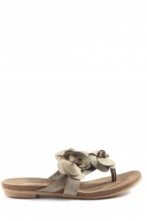 Bugatti Flip-Flop Sandals light grey casual look