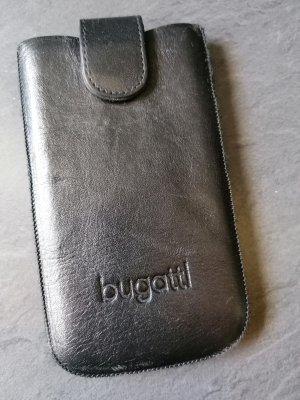Bugatti Pokrowiec na telefon komórkowy czarny Skóra