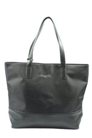 Bugatti Carry Bag black casual look