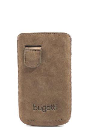 Bugatti Etui na karty brązowy W stylu casual