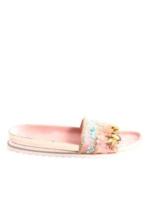 Bugatti Wygodne sandały różowy W stylu casual