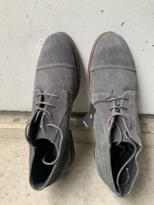 Bugatti Lace Shoes grey-light brown
