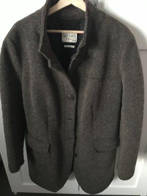 Bugatti Wool Jacket brown-dark brown wool