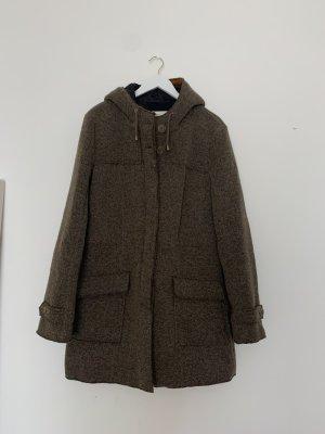 Bugatti Giacca di lana marrone chiaro