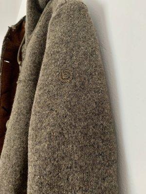 Bugatti Wełniany sweter jasnobrązowy