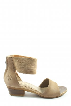 Bugatti Strapped High-Heeled Sandals brown casual look