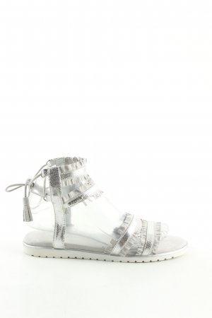 Bugatti Roman Sandals silver-colored casual look