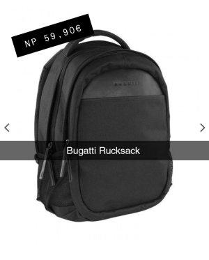 Bugatti Backpack Trolley black-grey