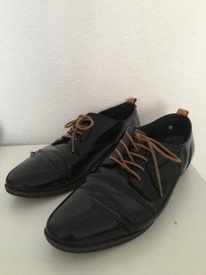 Bugatti Schnürschuhe schwarz 40