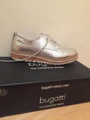 Bugatti Schuhe Silber