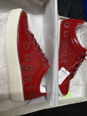 Bugatti Slip-on Sneakers dark red