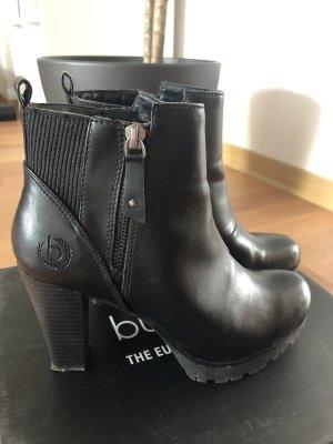 Bugatti Zipper Booties black