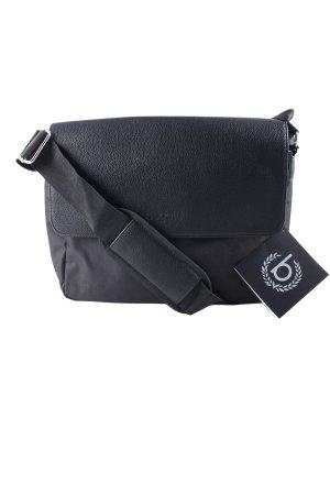 Bugatti Gekruiste tas zwart casual uitstraling