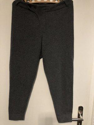 100% PURE CASHMERE Jodhpurs grey-dark grey cashmere