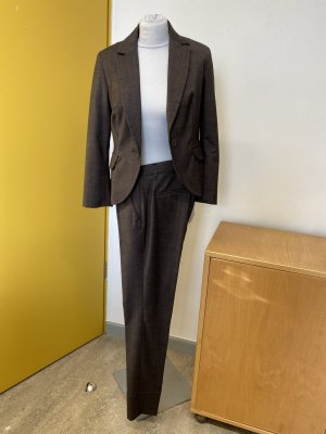 Personal Affairs Abito business marrone-grigio Lana