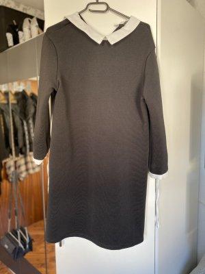 Primark Vestido tipo blusón negro-blanco