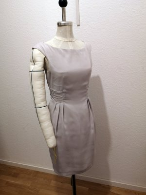 Zara Basic Pencil Dress light grey-grey