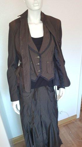 c.a.r.o. Blazer de esmoquin color bronce-marrón
