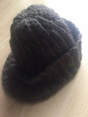 Bula Cappello a maglia cachi-grigio-verde