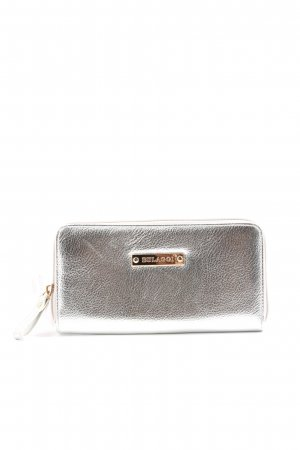 Bulaggi Wallet silver-colored business style