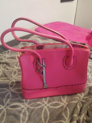 Bulaggi Handtasche pink mit Bag und passendem Schal