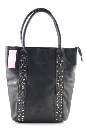 Bulaggi Carry Bag black spot pattern casual look