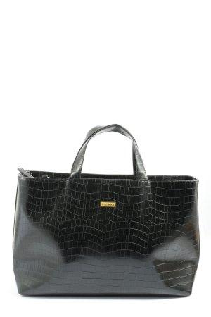 Bulaggi Handtasche schwarz Animalmuster Casual-Look
