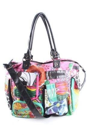Bulaggi Canvas Bag abstract pattern casual look