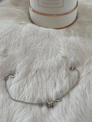 Bulgari Bracelet argenté-blanc