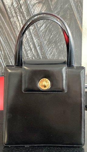 Bulgari Carry Bag black leather