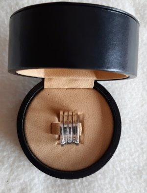 Bulgari Gold Ring silver-colored real gold