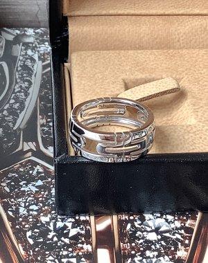 Bvlgari Gouden ring zilver