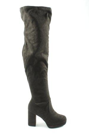 Bull Boxer Wysokie buty na obcasie czarny Elegancki