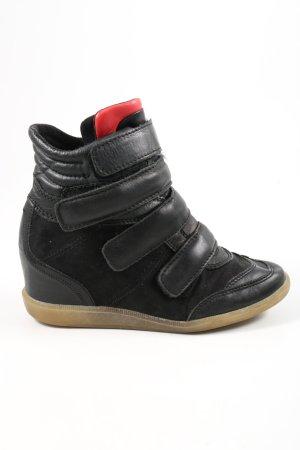 Bull Boxer Korte laarzen zwart-rood casual uitstraling