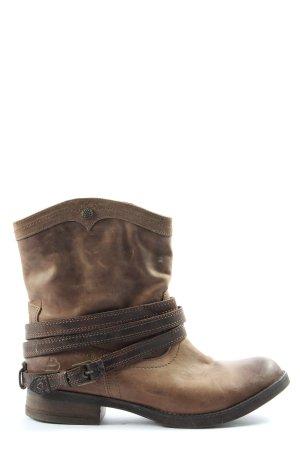 Bull Boxer Wciągane buty za kostkę brązowy W stylu casual
