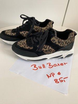 Bull Boxer Sneakers met veters zwart