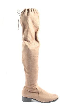 Bull Boxer Bottes à tige large crème style décontracté
