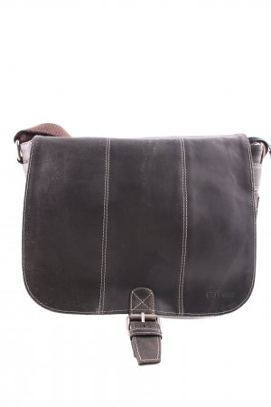 Bull & Hunt Schultertasche braun Business-Look